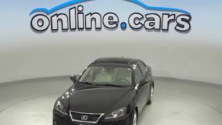 A10131TA Used 2011 Lexus IS 350 AWD Sedan Black Test Drive, Review, For Sale