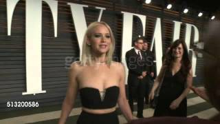 Jennifer Lawrence dances at Vanity Fair Oscars Party!