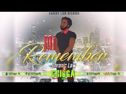 Chronic Law - Mi Remember (Clean Version) Dancehall 2019