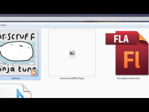 Flash & Actionscript 3 Lesson: New Improved Music Player