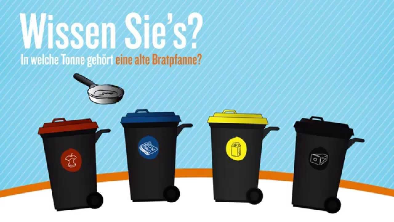 Richtig Müll trennen   Die einfache Anleitung zur Mülltrennung ...