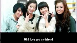 Secret - Friends [Eng. Sub]