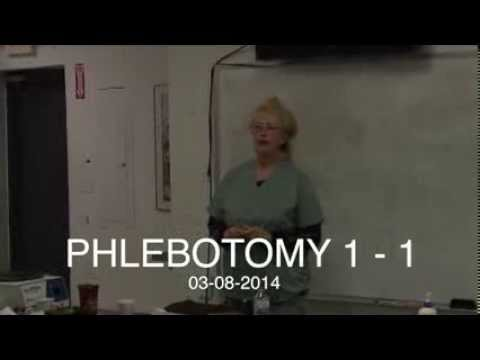 Day 1 of Phlebotomy at Phlebotomy Career Training