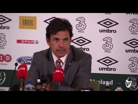 VIDEO: 'Your boys aren't coming off with halos on their head either' - Wales manager Chris Coleman