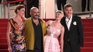 """Cannes: montée des marches de """"Love"""" de Gaspar Noé"""