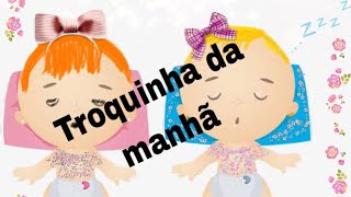 Troquinha da manhã! Changing clothes of babies