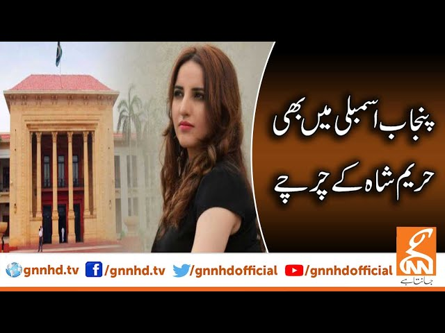 Punjab Assembly echoes with Hareem Shah's name   GNN   24 January 2020