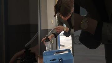 의료용/가정용 산소발생기 에버플로(Everflo) 간략한 시연 동영상
