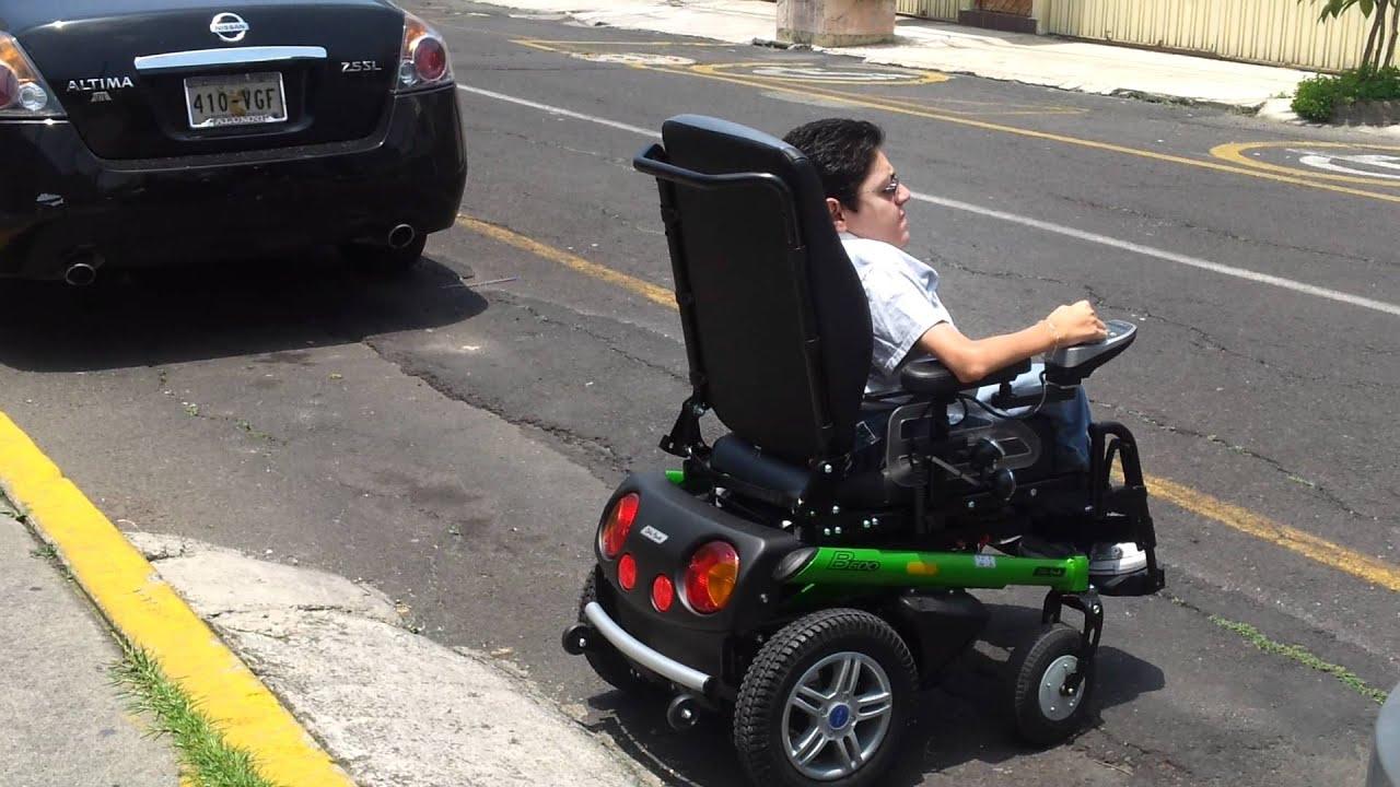 Prueba de silla de ruedas Otto Bock B600  Tecnodiva