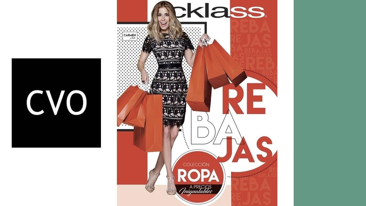 23c9de42 NUEVO* Catálogo CKLASS REBAJAS Noviembre y Diciembre 2018 - YouTube