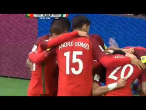 Portugal vs Mexico 2/1 highlights  2/7/2017 confederation cup