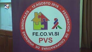 Federación de Cooperativas de Viviendas Sindicales realiza plenario en Paysandú