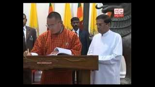 Sri Lanka-Bhutan sign MoU to enhance bilateral relations