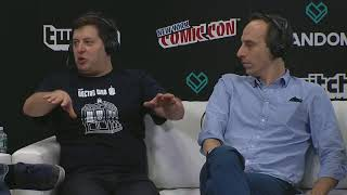 The President Show • Peter Grosz • Anthony Atamanuik • New York Comic Con 2017 • interview