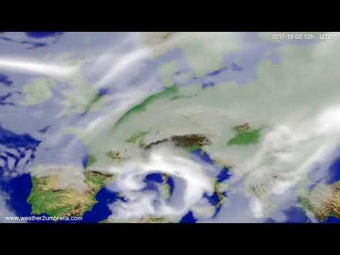 Cloud forecast Europe 2017-11-30