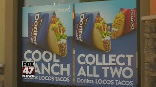 Free tacos at Taco Bell today!