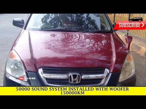 Honda CRV Automatic 2004 for sale in Mumbai| Used car in Mumbai| second hand car for sale