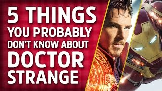 5 Things You Might Not Know About Doctor Strange