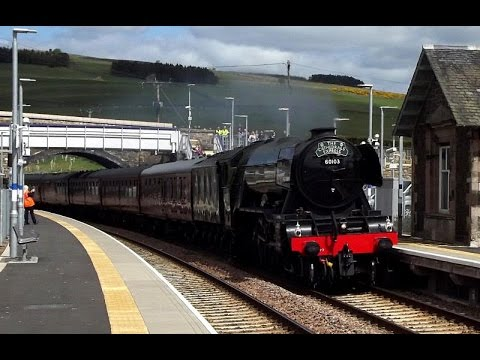 The Flying Scotsman visits the Borders Railway | 15/5/16 |