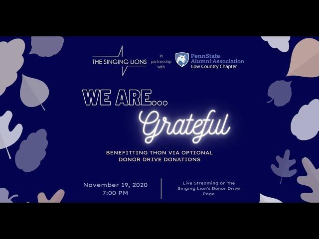 We Are...Grateful