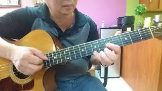 Hướng dẫn intro, lead & đệm guitar bài. NHƯ CÁNH VẠC BAY OF TCS
