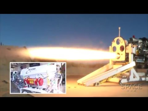 Inside XCOR - Lynx Reusable Engine   Exclusive Tour Video