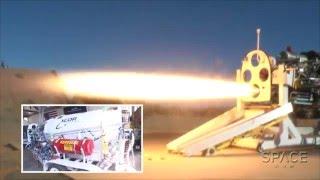 inside xcor lynx reusable engine   exclusive tour video