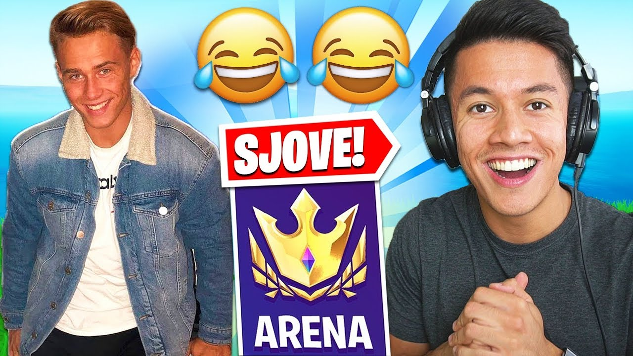DUO ARENA MED OLIVER BLOCH! - FORTNITE DANSK