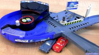 Cars 2 Pop Out Hydrofoils Quick Changers Crash N Change Speedway Track