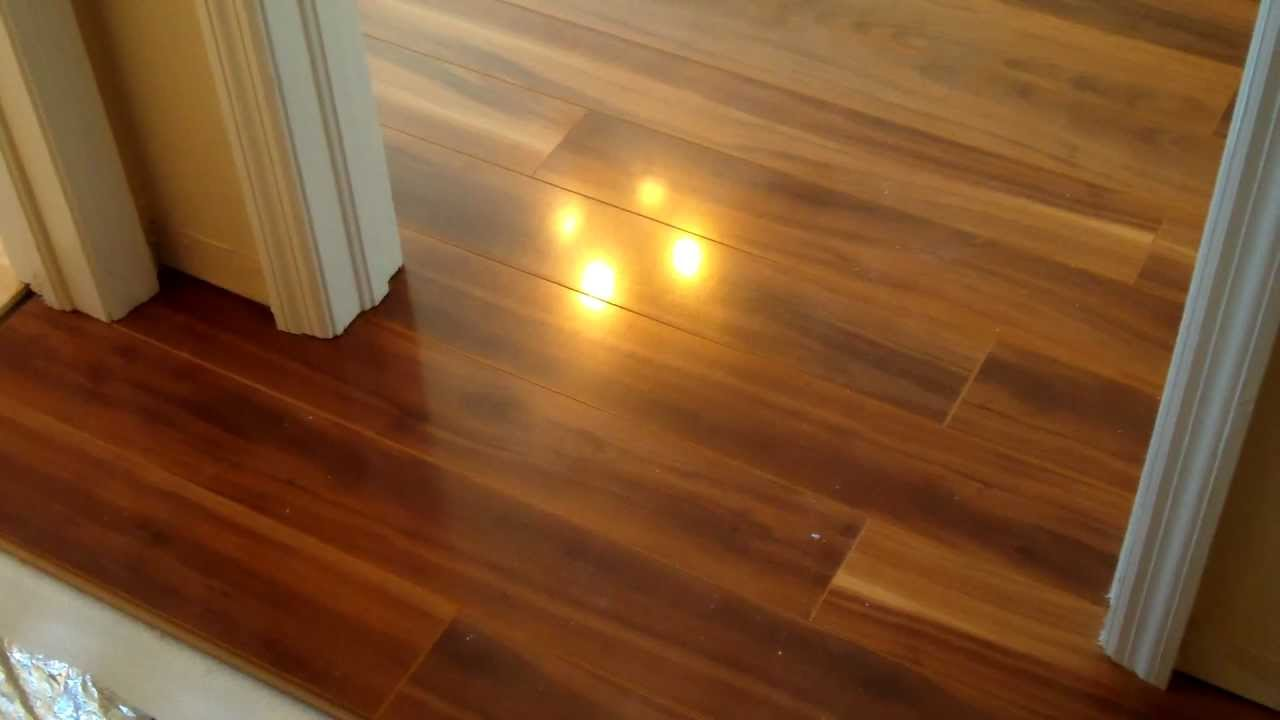 No Threshold A Door Sill Is Not Necessary For Laminate Floor Installation You