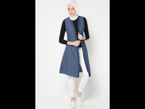 Baju Muslim Rompi Modern Ala Hijabers Kekinian Youtube
