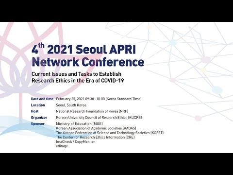 4th 2021 Seoul APRI Network Conference A