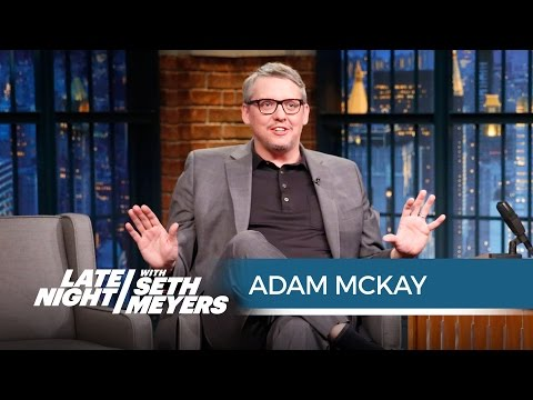 Adam McKay Once Pranked Lorne Michaels  Late Night with Seth Meyers