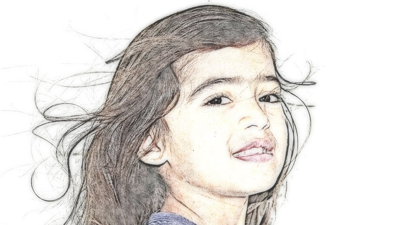 How to transform photos into color pencil drawings using gimp photoshop alternative 19