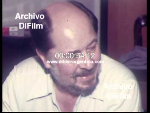 DiFilm - Jaime de Armiñan visita Buenos Aires (1981)
