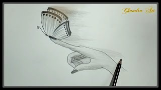 pencil easy drawing cool