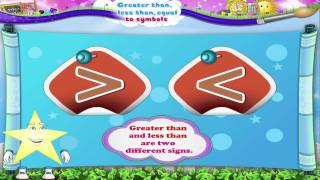 Learn Grade 1 - Maths - Learn Greater, Iess and Equal to Symbol