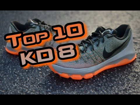 Top 10 KD 8