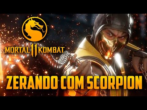 Mortal Kombat 11 - Zerando Com SCORPION NO HARD