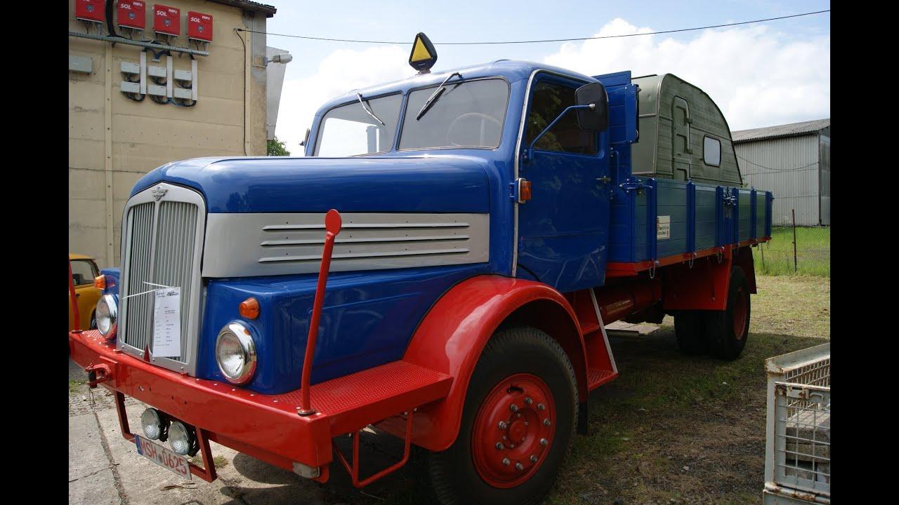 DDR IFA ERST GRUBE WERDAU H6 Bj 1956 DIESEL 150 PS