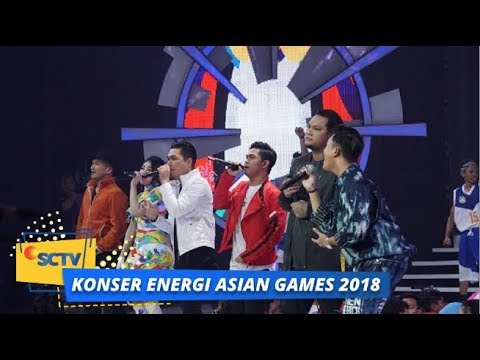 All Stars - Bright As The Sun | Konser Energi Asian Games