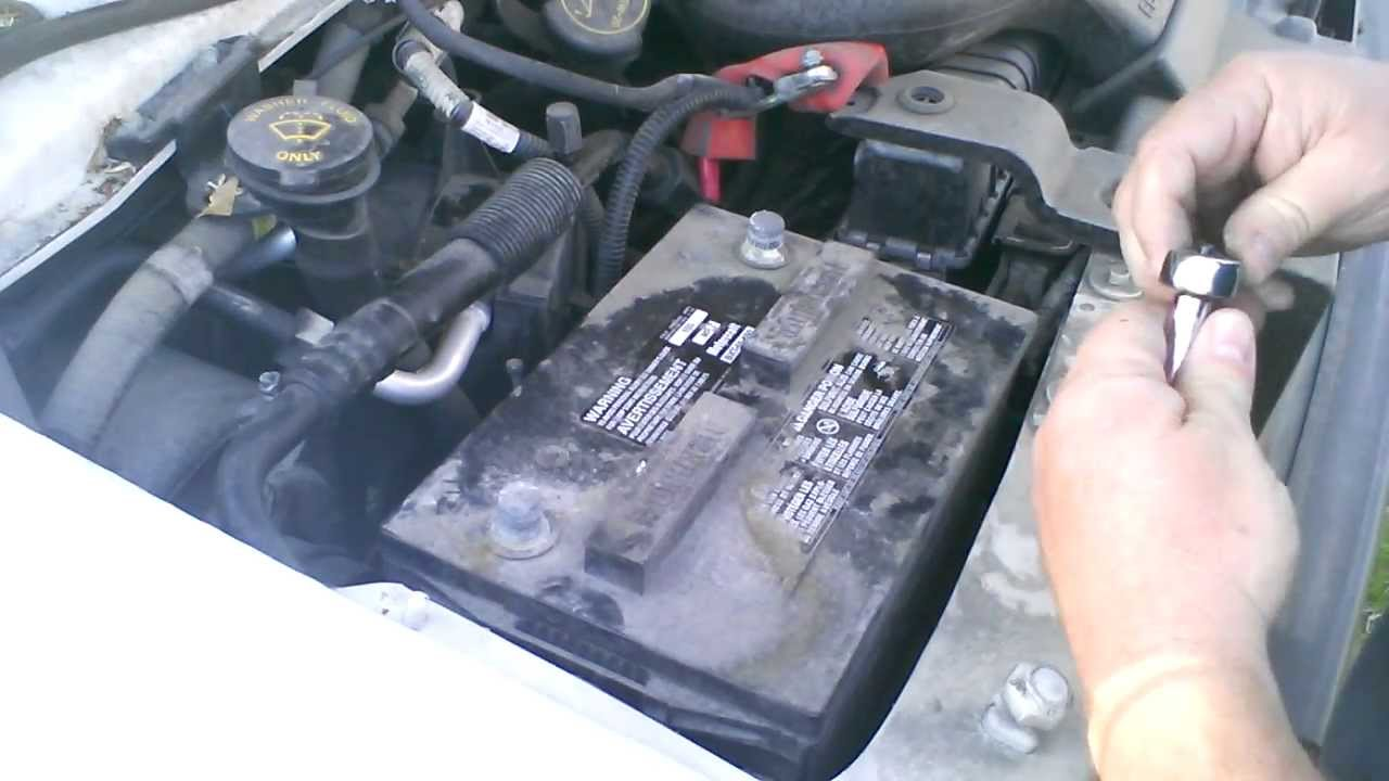 hight resolution of how to change battery on ford e250 cargo van