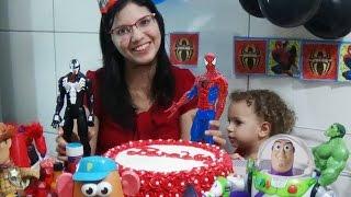 Festa de Aniversário do Homem Aranha