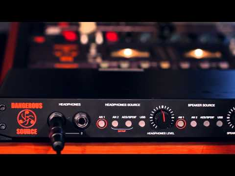 Source Talkback Mic Options - Dangerous Music
