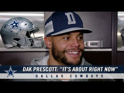 Dak Prescott on the Cowboys Opportunity to be in the Playoffs   Dallas Cowboys 2018