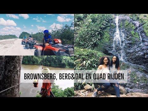 TRAVEL VLOG: Suriname 2016 - week 2 | BROWNSBERG, BERG&DAL EN QUAD RIJDEN