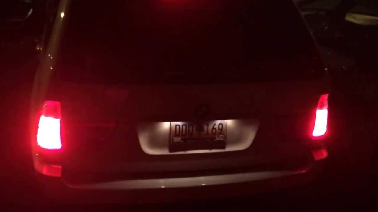 E53 Taillight Problem - YouTube