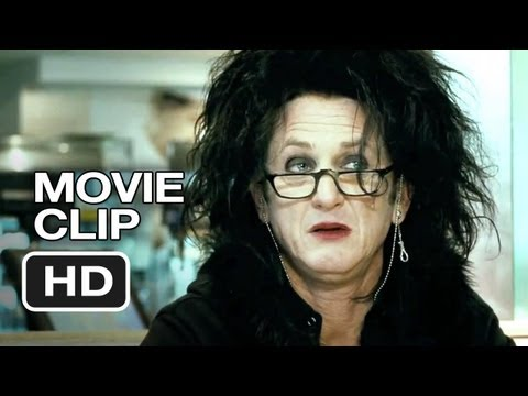 This Must Be the Place Movie CLIP - Coffee Shop (2012) - Sean Penn Movie HD