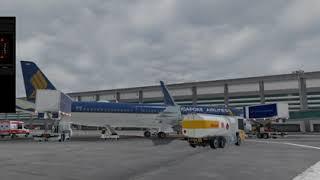 엑스플레인11/싱가포르 창이공항/이륙후 상승까지영상/