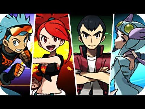 Pokémon Omega Ruby & Alpha Sapphire -  All Gym Leader Battles (1080p60)